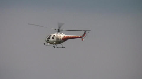 helicopter killer loop Stock Video Footage