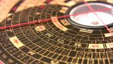 Compass China Rotating 2 stock footage