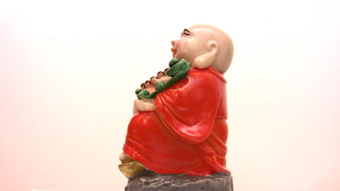 china figurine Stock Video Footage