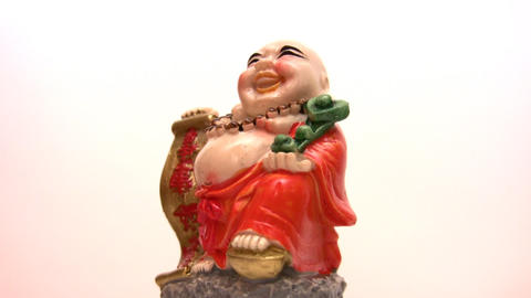 china figurine Stock Video Footage