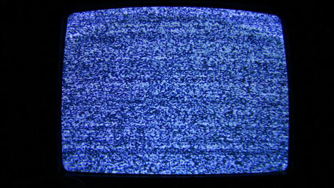 tv no signal Stock Video Footage