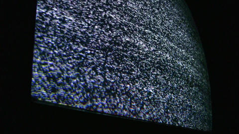 tv no signal 3 Stock Video Footage