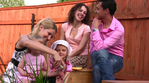 family outdoor 2 Footage