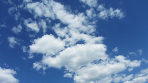 timelapse with beautiful clouds moving Footage