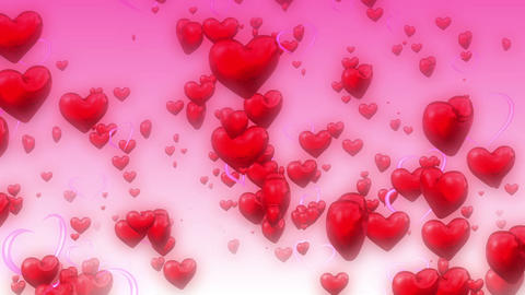 Heart Particle Background 01 stock footage