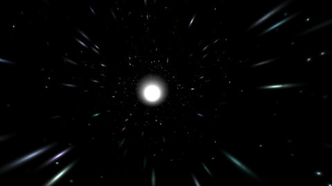 Flight of the White Hole Stock Video Footage