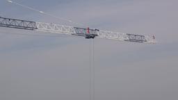 Boom Of Building Crane stock footage
