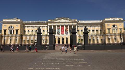 State Russian Museum in St. Petersburg 4K Footage