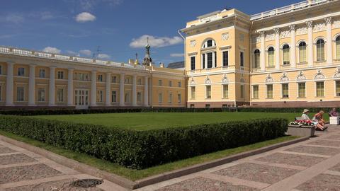 State Russian Museum in St. Petersburg 4K Stock Video Footage
