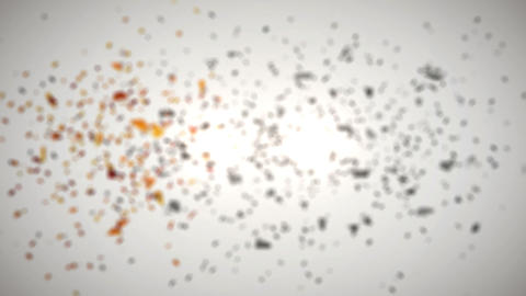 Elements Shatter Logo Implosion Reveal Animation After Effects Template