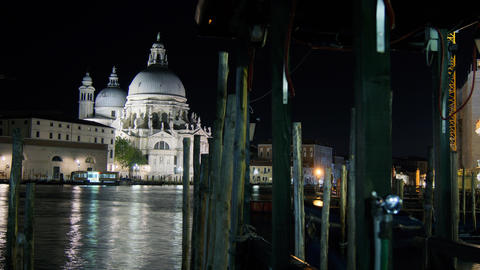 Some Attractions Of Venice City In Italy stock footage