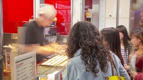Shanghai fast food timelapse 05 Footage