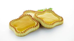 Lime jam tartlets Stock Video Footage