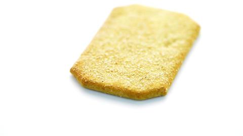 Cinnamon cookie Stock Video Footage