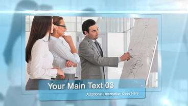 Corporate Glass After Effects Template