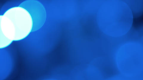 blurred blue lights, abstract backgrounds 4k Footage