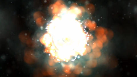 Rocket Propulsion Animation