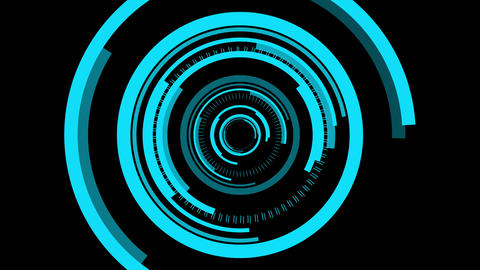 futuristic abstract motion background Animation