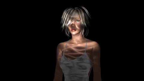 Digital Model posing Animation