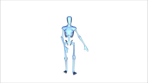 Posing Mannequin stock footage