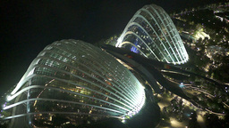 Singapore Night Aerial View on Pavilion Gardens by GIF