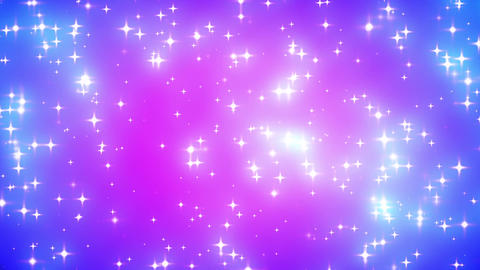Pink Nebula Looping Glowing Stars Background 1 Den Animation