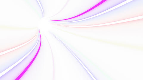 Tunnel Neon Tube DL 1w 4k Animation