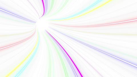 Tunnel Neon Tube EL 2w 4k Animation