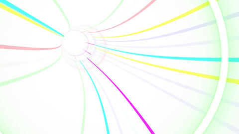 Tunnel Neon Tube GS 2w 4k Animation
