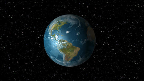 Earth Rotation Animation Animation