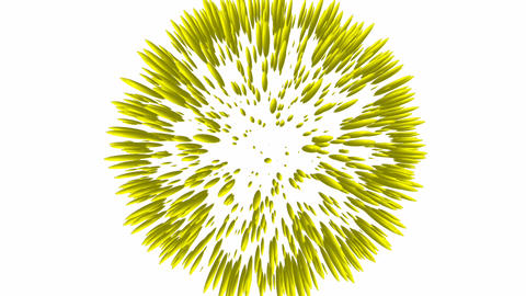 Animated spherical Particles Stock Video Footage
