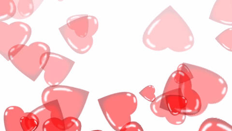 Floating Hearts Animation Animation