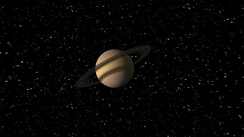 Solar System Animation Stock Video Footage