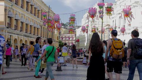senado square - near business tourism center Live Action