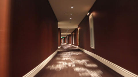 Hallway Loop stock footage