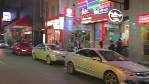 4 angles - melbourne chinatown Footage