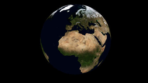 Rotating Earth Animation Animation