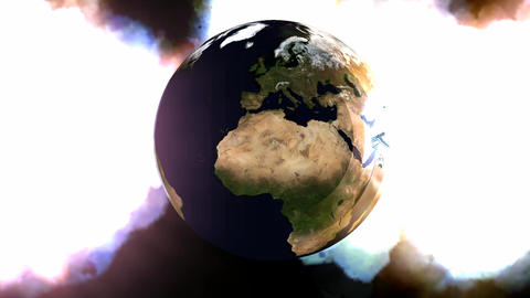 Rotating Earth Animation Animation