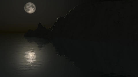 Moonlight Flight Animation