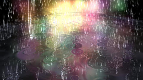Surreal Rain Animation Animation