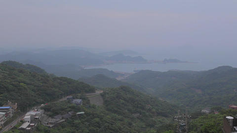 early evening - jiufen view Footage