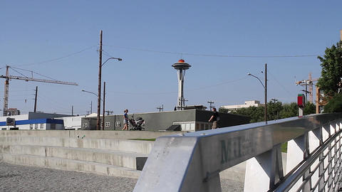 SEATTLE,UNITED STATES - CIRCA May 2012 :dolly shot Footage