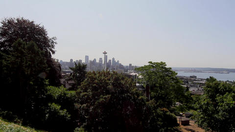 SEATTLE,UNITED STATES - CIRCA May 2012 :wide view  Live影片