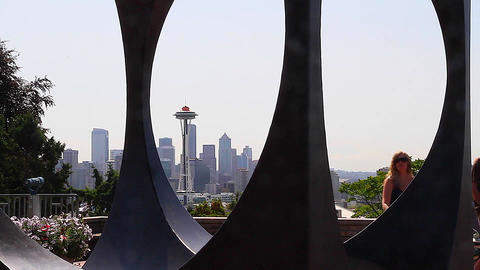 SEATTLE,UNITED STATES - CIRCA May 2012 :artistic d Stock Video Footage