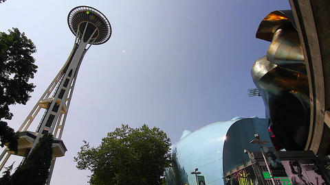 SEATTLE,UNITED STATES - CIRCA May 2012 :wide shot Stock Video Footage