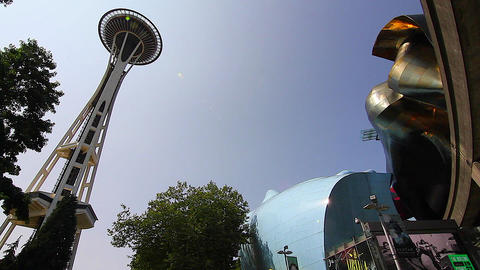 SEATTLE,UNITED STATES - CIRCA May 2012 :wide shot  Footage