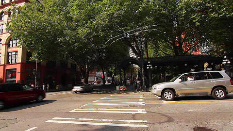 SEATTLE,UNITED STATES - CIRCA May 2012 :pan - on p Stock Video Footage