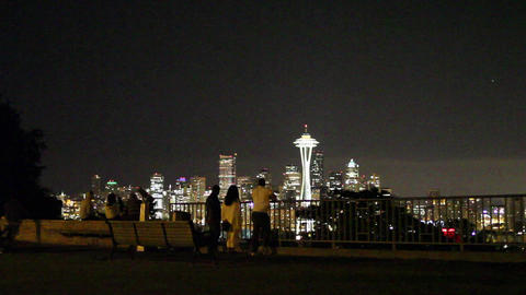 SEATTLE,UNITED STATES - CIRCA May 2012 :evening do Footage