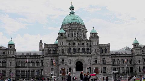 medium shot - Parliament Building Footage