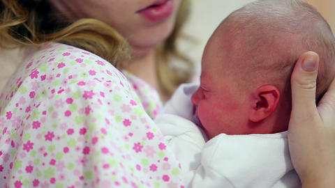 Infant aged one day Footage